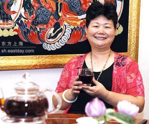 刘秋萍和她的茶宴馆[图]